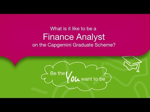 What is it like to be a Finance Analyst on the Capgemini Graduate Scheme?