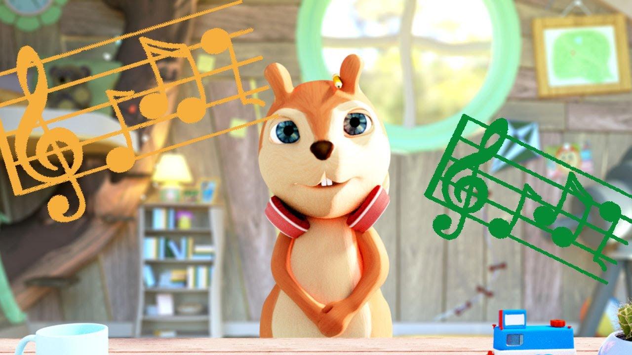 Giochi per bambini in video alice nel bosco cartone animato