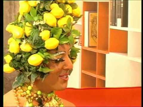 lady limoncella ospite di TVP ITALIA
