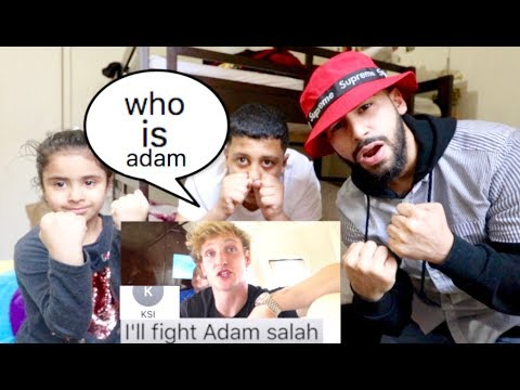REACTING TO LOGAN PAUL NOT KNOWING WHO I AM!!