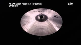 "Crash Paper Thin 16"" Extreme Video"