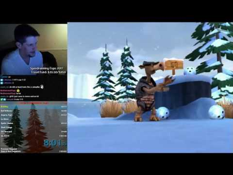 Ice Age 2 Speedrun (Console) in 1:03:46 (old world record)