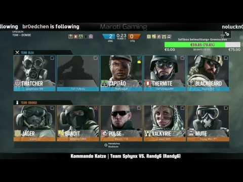 Rainbow Six Siege DeSBL Cup | Kommando Katze Team Sphynx vs. Randy6