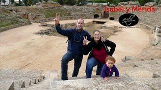 España en autocaravana: Isabel y Mérida.