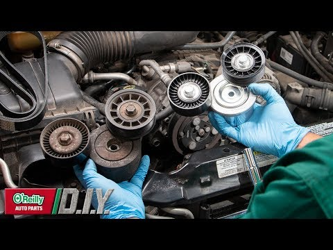 Replacing Serpentine Belt/Tensioner/Idler Pulley | O'Reilly