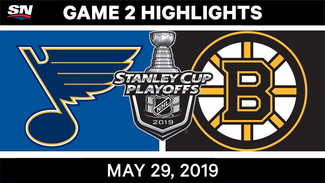 NHL Highlights   Blues vs. Bruins, Game 2 – May 29, 2019