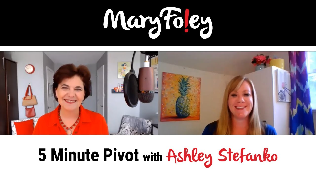 5 Minute Pivot: Ashley Stefanko