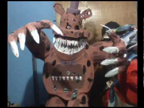 PIATAS DE FNAF FIVE NIGHTS AT FREDDYS NIGHTMARE FREDBEAR