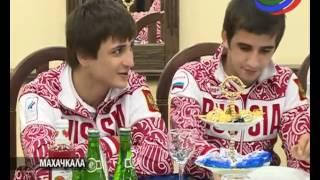 В Махачкале прошло торжественное чествование чемпионов Юношеских Олимпийских игр
