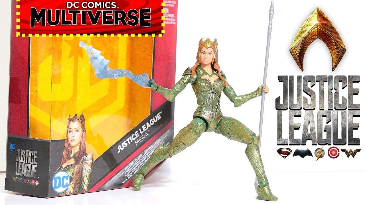 """DC Comics Multiverse Justice League Mera Figure 6/"""""""