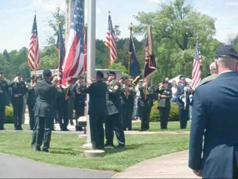28th Infantry Division Memorial Service 10.wmv