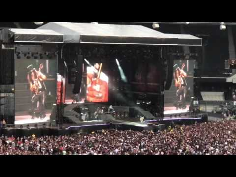 Guns N Roses – Slash's guitar solo – London Stadium 2017