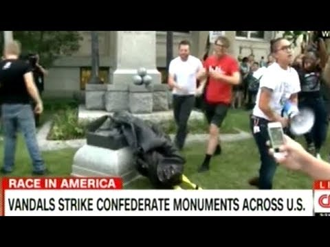 8 People Arrested For The Toppling Of Confederate Statue In Durham North Carolina