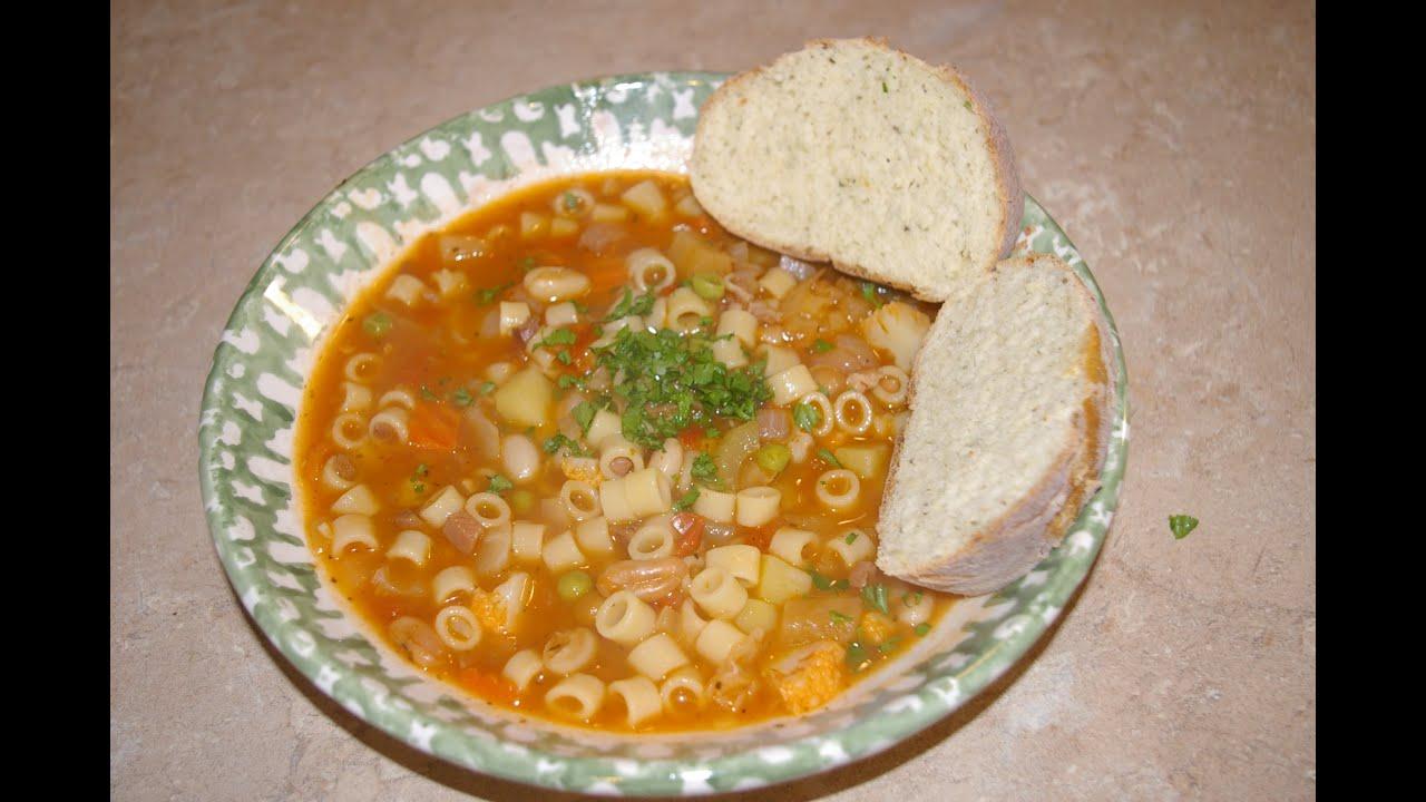 Minestrone Soup Italian Vegetable Soup YouTube - Italian vegetable soup