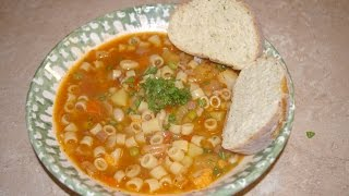 Minestrone Soup Italian Vegetable Soup