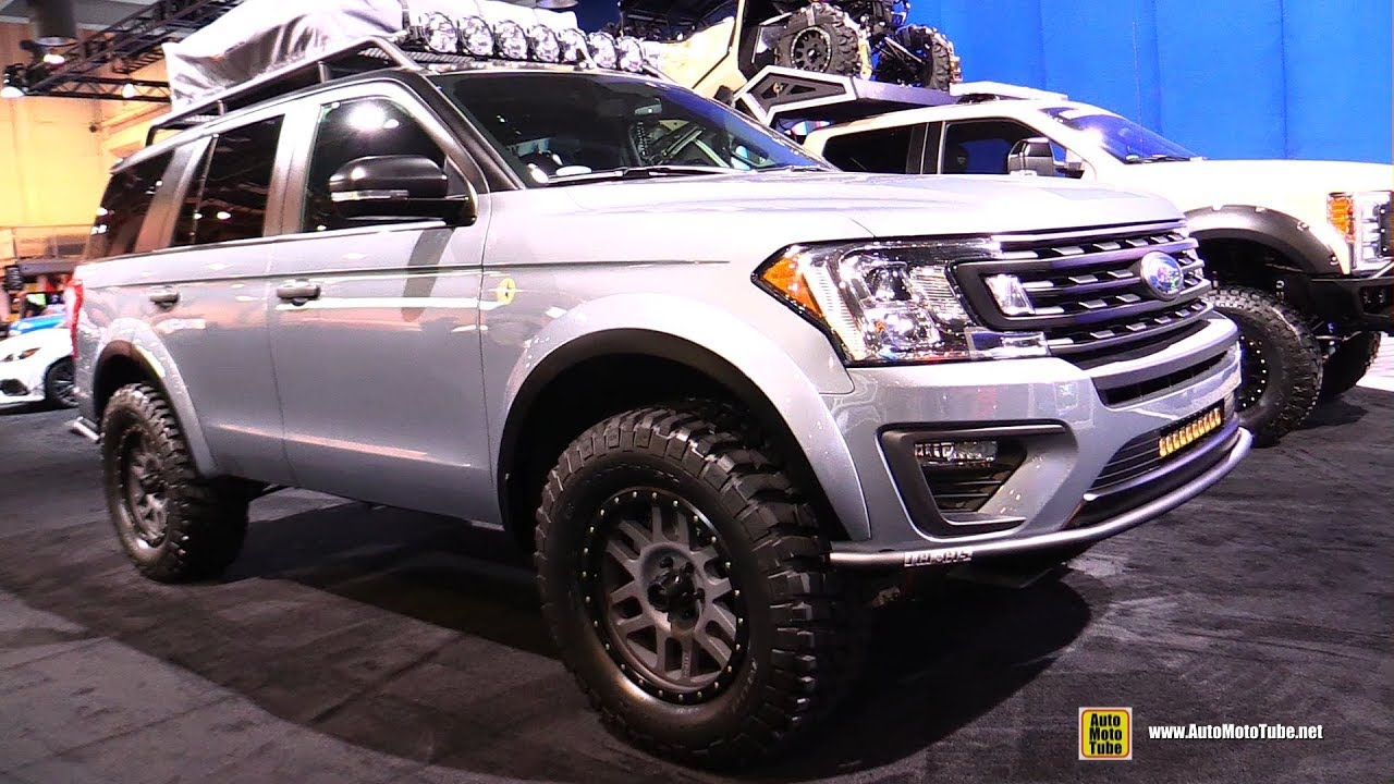 ford expedition xlt baja forged adventurer walkaround  sema las vegas