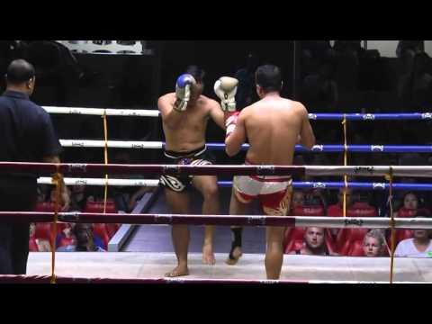 Umesh Shreshtha The Nepali Iron Man  - The full Muay Thai-Boxing Fight Ever  Patong Phuket Thailand