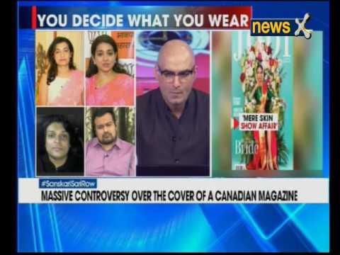 Nation at 9: Canadian wedding magazine featuring Tamil bride wearing sari with slit sparks debate