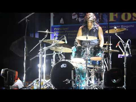 Fossil's drummer Tanmoy Das solo