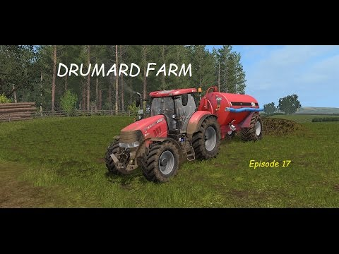 Farming simulator 2017 -DRUMARD FARM #17