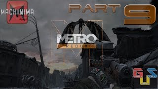 Metro 2033 Redux (PC/PS4/Xbox One) Walkthrough Part 9 - Dead City Demons!