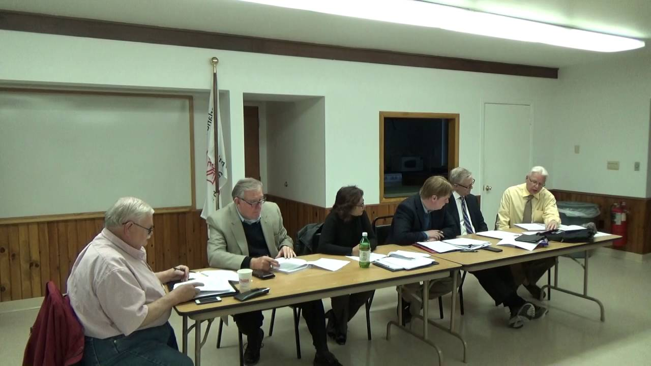 2016/04/25 Town of Plattsburgh Meeting - Cumberland Head