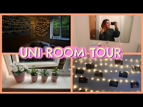 FALMOUTH UNIVERSITY ROOM TOUR //Emily Anna
