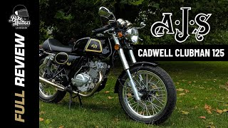 AJS Cadwell Clubman Review! 125CC CAFE RACER!