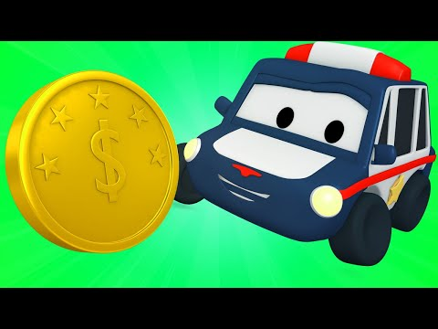 Coins - Tiny Town: Street Vehicles Ambulance Police Car Fire Truck