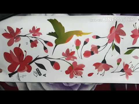 🖤Simple DIY wall decor ideas🖤| home wallpaper | low cost| vicky_360