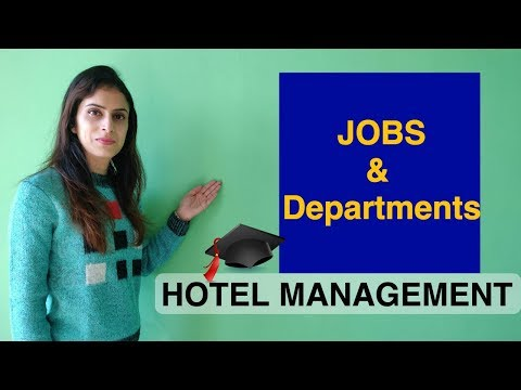 Type Of Hotel Jobs & Departments In Hotel Industry | Hotel Management Jobs And Career | Katoch Tubes