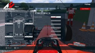 Assetto Corsa (PS4) - Ferrari F2004 @ Spa 1:41.495 + SETUP (DS4 Controller)