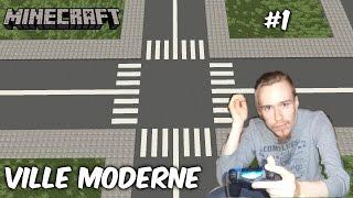 MINECRAFT | Ville Moderne 1 [Live] [PS4 FR]