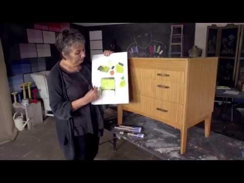 Annie Sloan Mid-Century Modern Project - Part 1: Choosing your Chalk Paint® colour