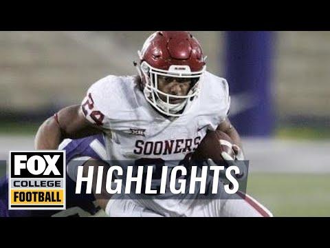 Oklahoma vs Kansas State | Highlights | FOX SPORTS