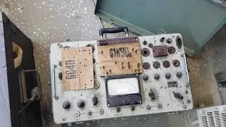 Редкая весчь -тестрер для радиоламп .