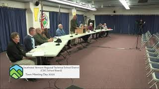CDC School Board // 2020 Town Meeting - 3-2-20