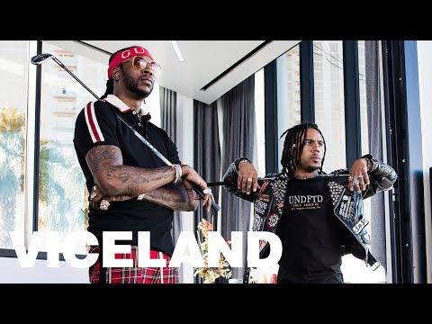 A Topgolf Flex with 2 Chainz and Vic Mensa