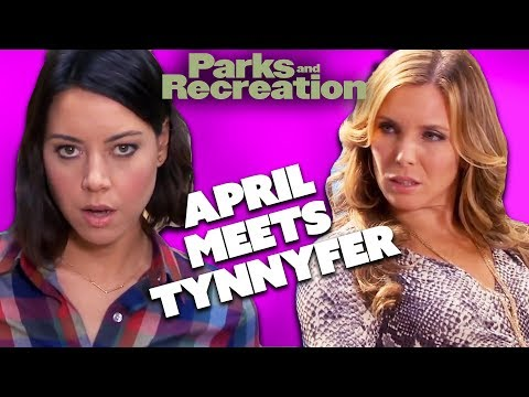 April Meets Tynnyfer   Parks and Recreation   Comedy Bites