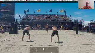 Pro Beach Volleyball Match Analysis: AVP Strategy, Tactics and Positioning