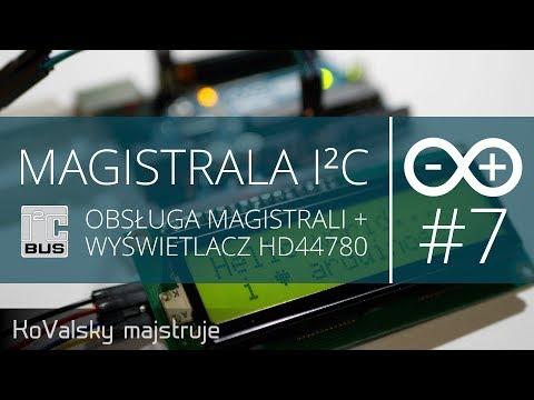 Kurs Arduino #7: Magistrala I2C - Omówienie Magistrali I Obsługa Wyświetlacza HD44780 Na I2C