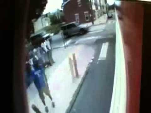 BREAKING NEWS Philadelphia shooting caught on camera
