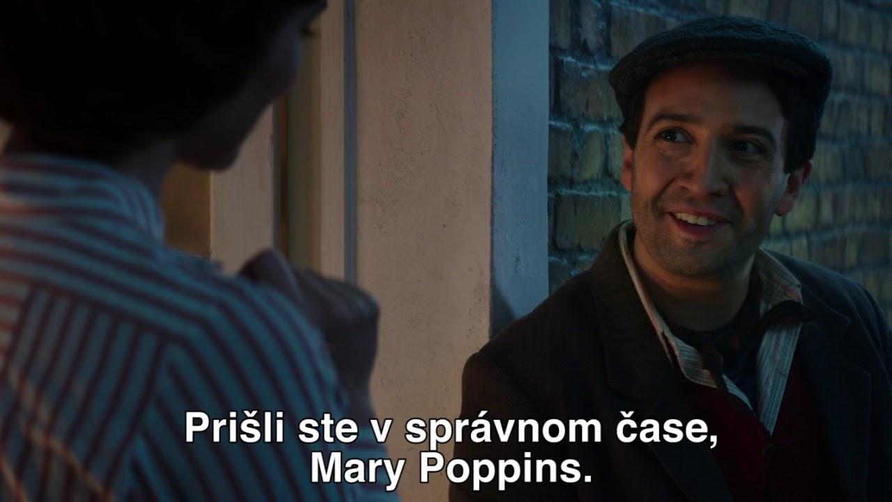 NÁVRAT MARY POPPINS v našich kinách od 27. 12. so SLOVENSKÝM DABINGOM - titulkový trailer