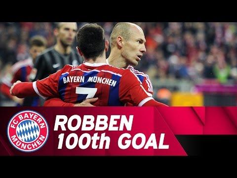 Arjen Robben's 100th Goal for FC Bayern!