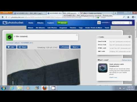 how to add a youtube video to ebay listing