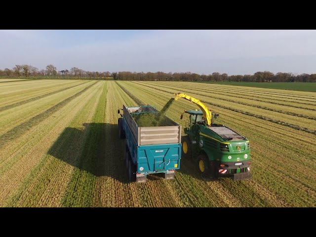 Ensilage d'herbe - Agrivilainetp Guipry Messac