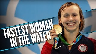 Katie Ledecky breaks her own world record in 400-meter freestyle | Rio Olympics 2016