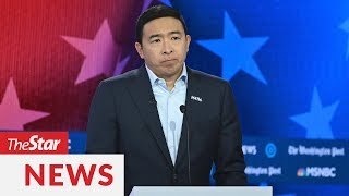 Businessman Andrew Yang drops out of Democrat race for presidency