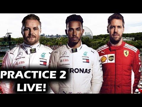 2019 Canadian Grand Prix Practice 2 Watchalong