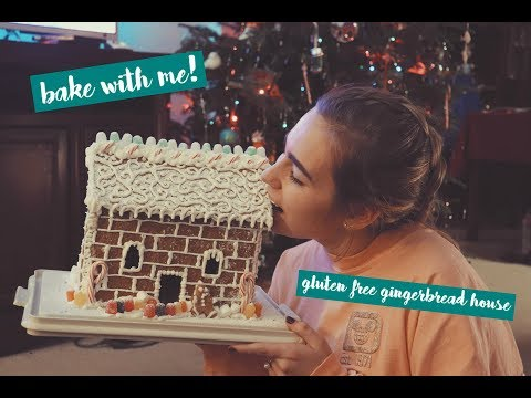 how to make a gluten free gingerbread house | aka how to avoid studying